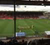 Lincoln City dominated most of the game against Altrincham. (Photo: Danyal Khan)
