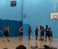 University ofLincoln Men's basketball 1sts vs University of Birmingham Men's 2nds