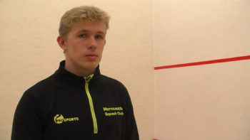 Daniel Wells, 16, Squash Player