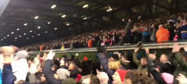 Imps fans were in fine voice for the whole match (Photo: James Williams)