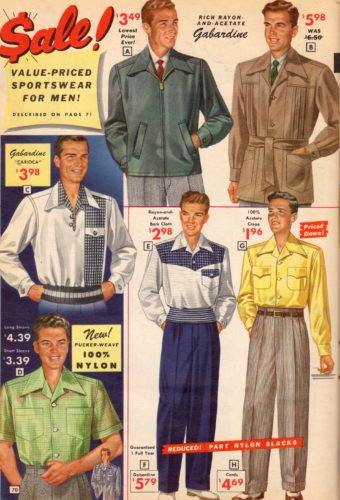 1950 Mens Clothing